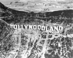 Hollywoodland Sign Flyover Picture