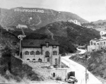The Hollywoodland Sign from the Hollywoodland Development