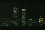 World Trade Centers at Night in Limp Bizkit's Rollin